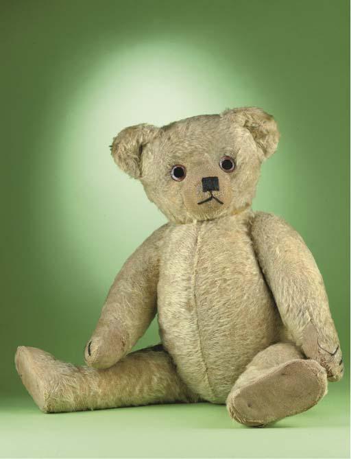 A Terry-type teddy bear