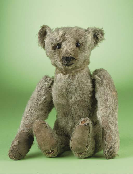 A Steiff tumbling teddy bear
