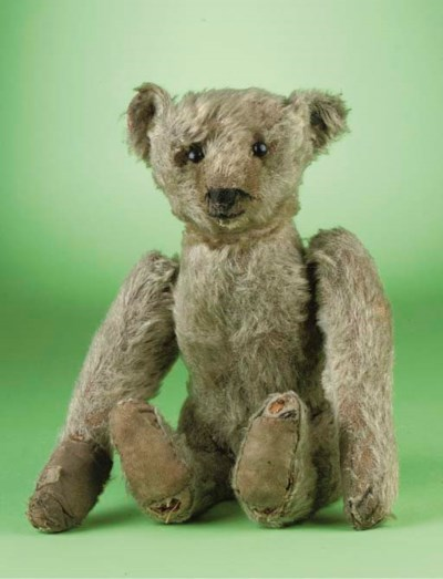 A Steiff tumbling teddy bear