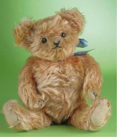 A rare Helvetic musical teddy