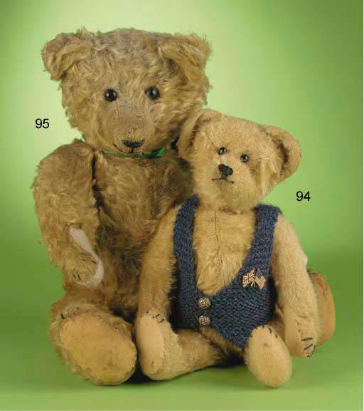 An American-type teddy bear