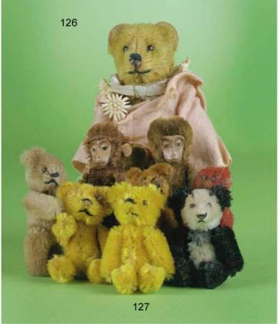 Schuco miniature teddy bears a