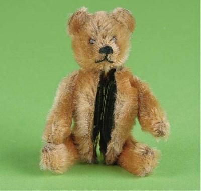 A Schuco orange mohair teddy b