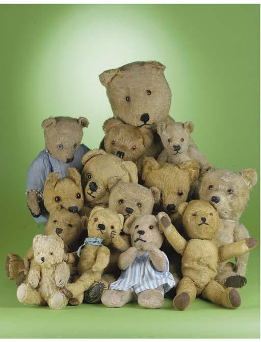 Post-war British teddy bears