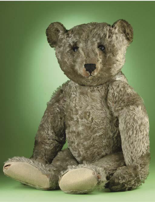 A large Steiff teddy bear
