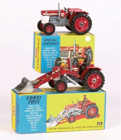 Corgi Tractors and Equipment