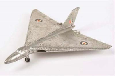 A Dinky 749 Avro Vulcan Delta