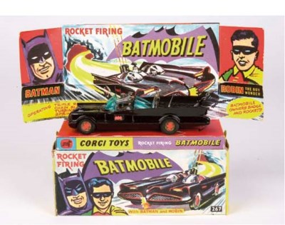 A Corgi 267 Batmobile