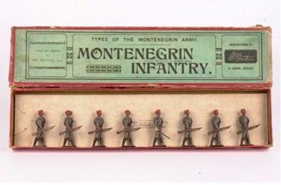 A Britains set no 174 Monteneg