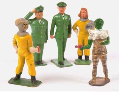 A Crescent Dan Dare Set
