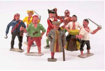 John Hill and Company Pirates