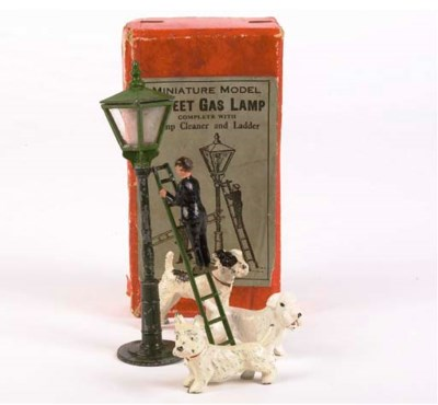 A John Hill and Company Lamp C