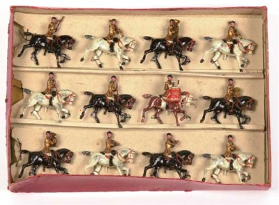 A Britains Set no 101 Mounted