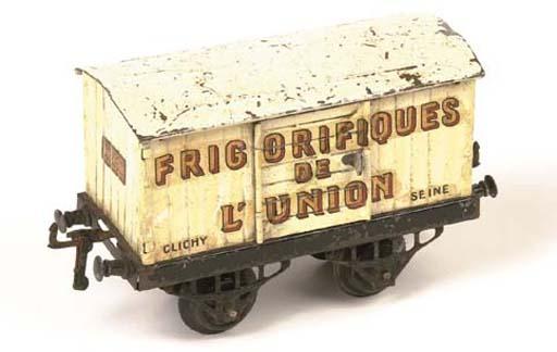 A rare Serie Hornby French Factory Refrigerator Van 'Frigorifiques de L'Union' 'Clichy, Seine'