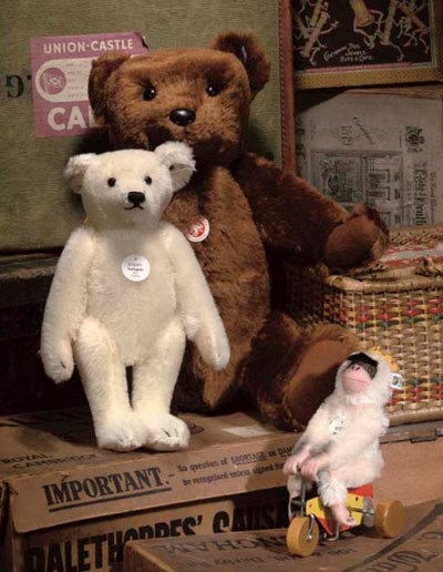 A Steiff Replica Bear 55 PB 19
