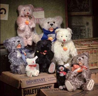 Steiff Festival Bears