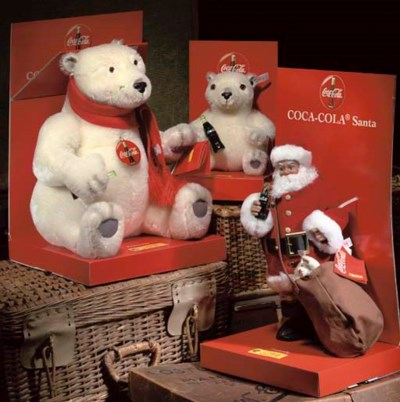 Steiff Limited Edition Coca Co