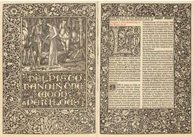 KELMSCOTT PRESS -- William MOR