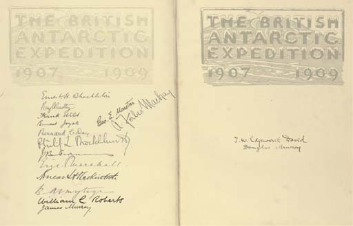 SHACKLETON, Ernest Henry, Sir