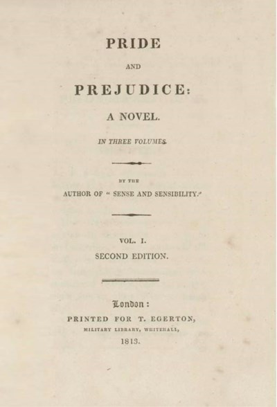 AUSTEN, Jane (1775-1817).  Pri