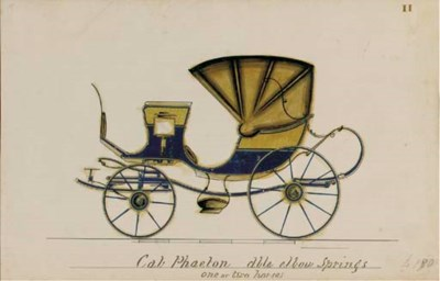 CARRIAGE DESIGNS -- An oblong