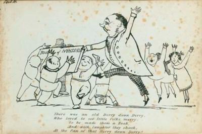 LEAR, Edward (1812-88).  Book