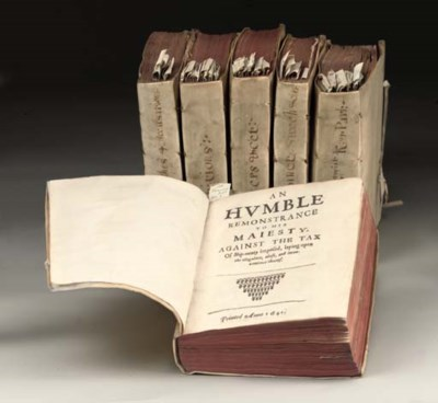 PAMPHLETS -- Six volumes conta
