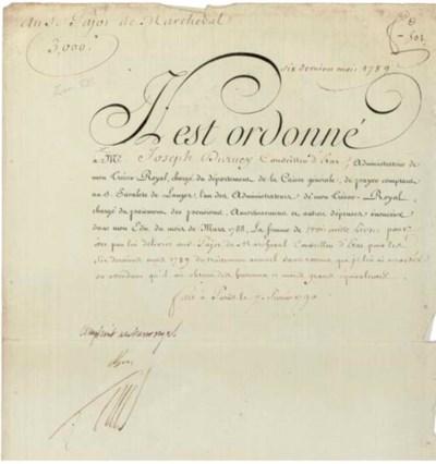 LOUIS XVI (1754-1793), King of