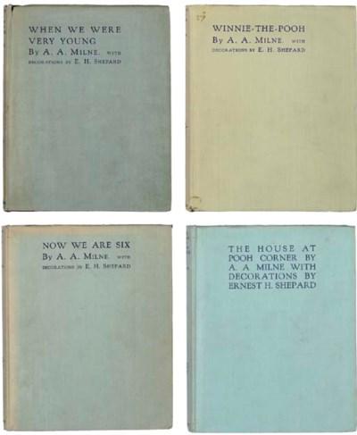 MILNE, A. A. (1882-1956).  A S