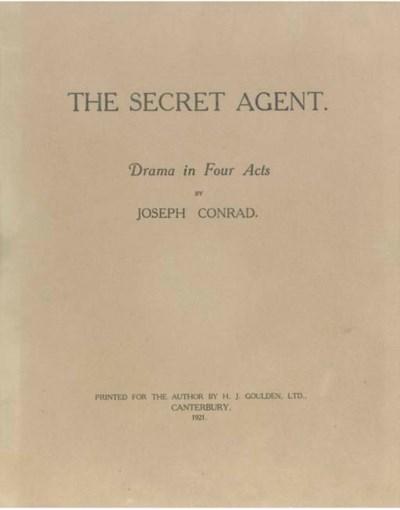 CONRAD, Joseph (1857-1924).  T