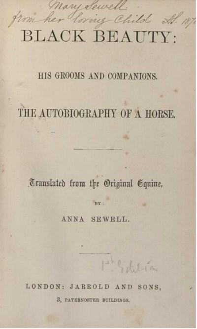 SEWELL, Anna (1820-78).  Black