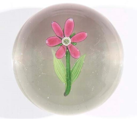 A FRENCH FLOWER WEIGHT