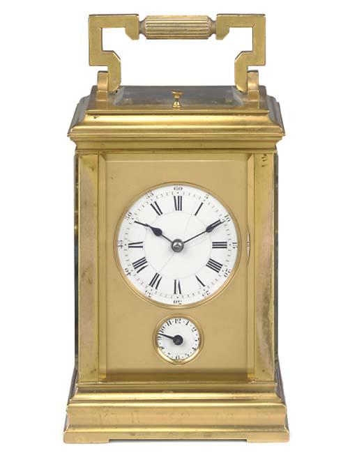 A French gilt-brass grande son