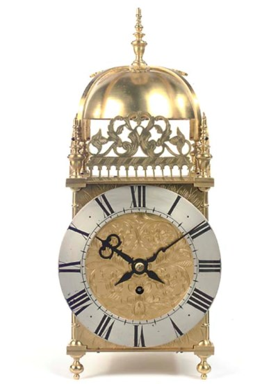An English giant brass lantern
