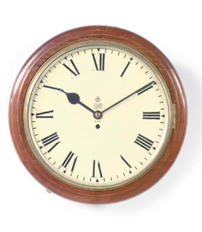 A George VI mahogany dial time