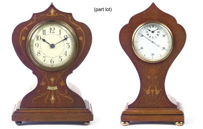 Five French Art Nouveau style