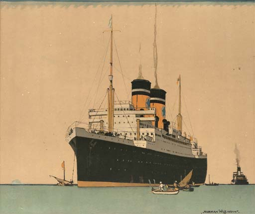 NORMAN WILKINSON: A TRAVEL AGE