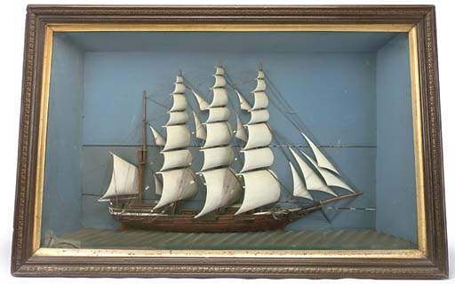 A 19TH CENTURY SAILOR'S PICTUR