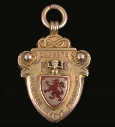 A 9CT GOLD AND ENAMEL 1898-99