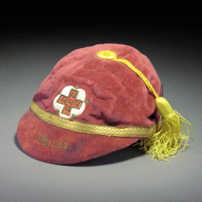 A YORKSHIRE COUNTY CAP, 1951-5