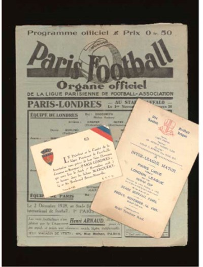 PARIS LEAGUE V. LONDON LEAGUE,