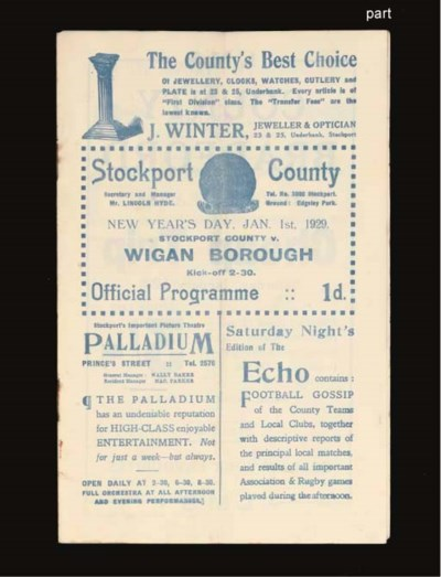 SEVEN STOCKPORT COUNTY HOME MA