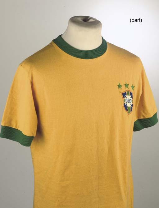 A YELLOW BRAZIL V. YUGOSLAVIA