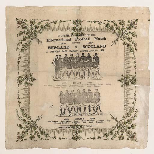 ENGLAND V. SCOTLAND 1914: A SO