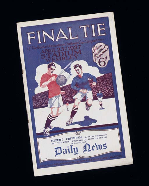 AN ARSENAL V. CARDIFF CITY, F.