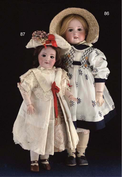 An S.F.B.J. child doll