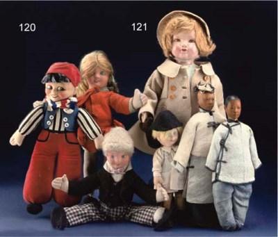 An Alpha Farnel boy doll