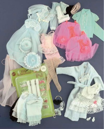 A Collection of Barbie Lingeri