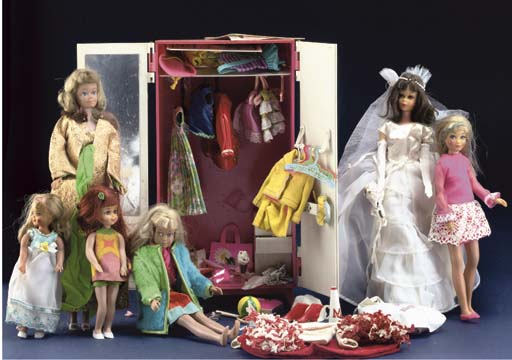 A Collection of Barbie and Fri
