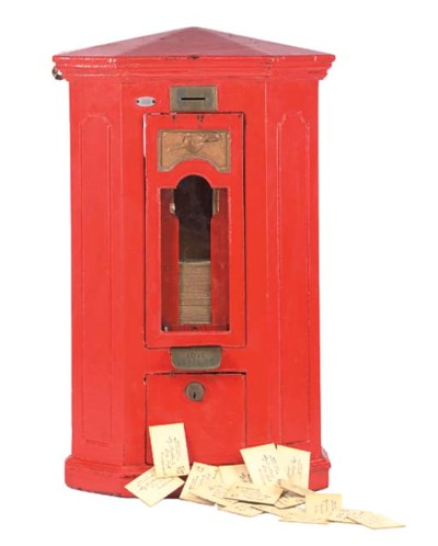 A 'Love Letter Box' by Nelson